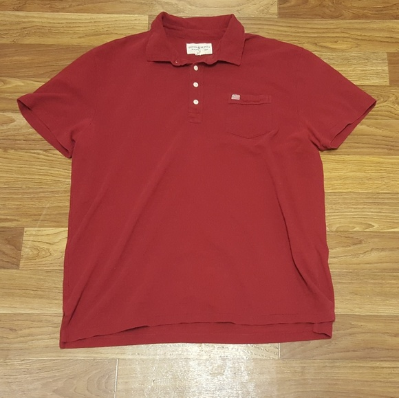 5fe99585 Denim & Supply Ralph Lauren Shirts | Denim Supply Polo Red Xl Ralph ...